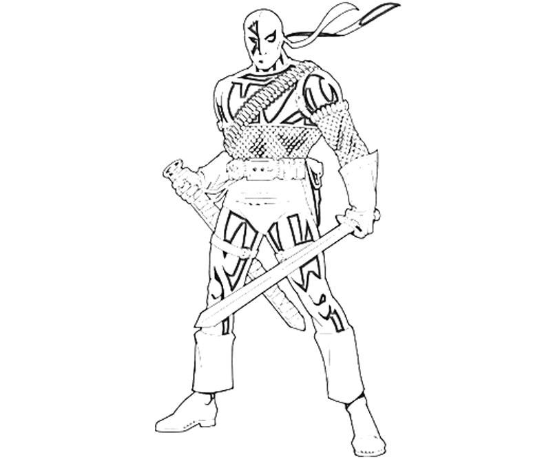 deathstroke coloring pages for kids wwwimgkidcom the