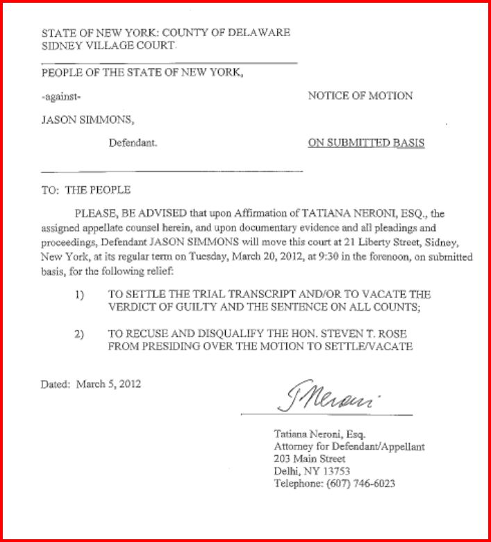 Notice Of Motion Template. o reg 721 94 rules of the court of ...