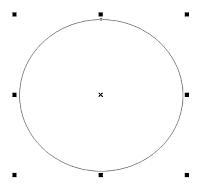 Corel Draw Ellipse