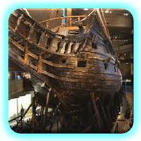De boeg van de Vasa