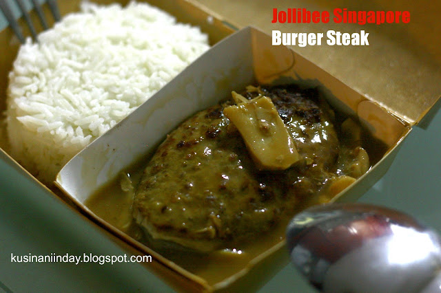 Jollibee Singapore Burger Steak