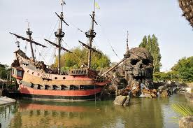barco pirata de Disneyland Paris