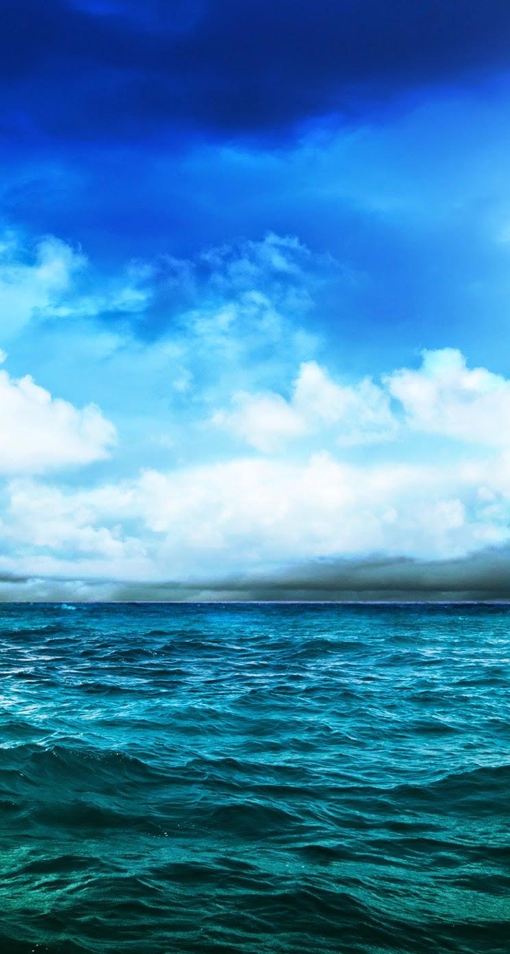 Deep ocean sky for Iphone 5, 5S & 5C