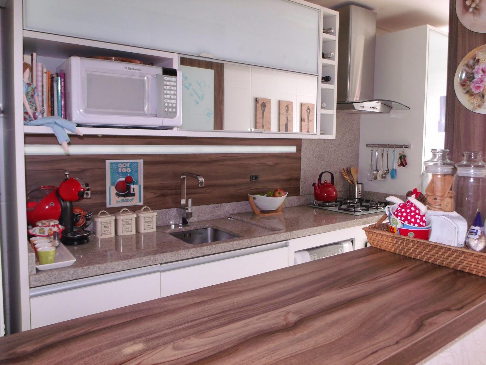 Tô Decorando por Jana Cassis!: Minha cozinha de cara nova! #6C4440 1600 1200