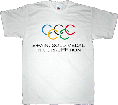 pp partido popular corruption Summer Olympic Games madrid 2020 useless spanish politics useless kingdoms t-shirt ephemeral-t-shirts