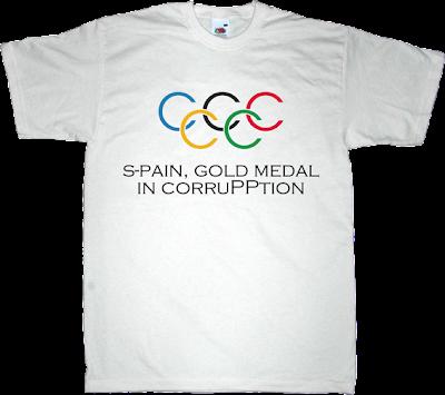 pp partido popular corruption Summer Olympic Games madrid 2020 useless spanish politics useless kingdoms t-shirt ephemeral-t-shirts