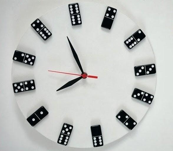 Tutorial como hacer un reloj de pared con fichas de - Hacer un reloj de pared ...