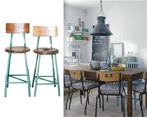 Sos cucina blog di arredamento e interni dettagli for Sedie industrial design