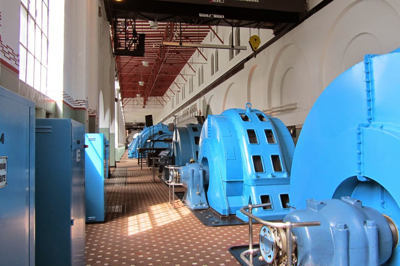 Noorwegen waterkrachtmuseum Tyssedal