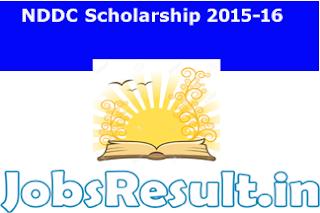 NDDC Scholarship 2015-16