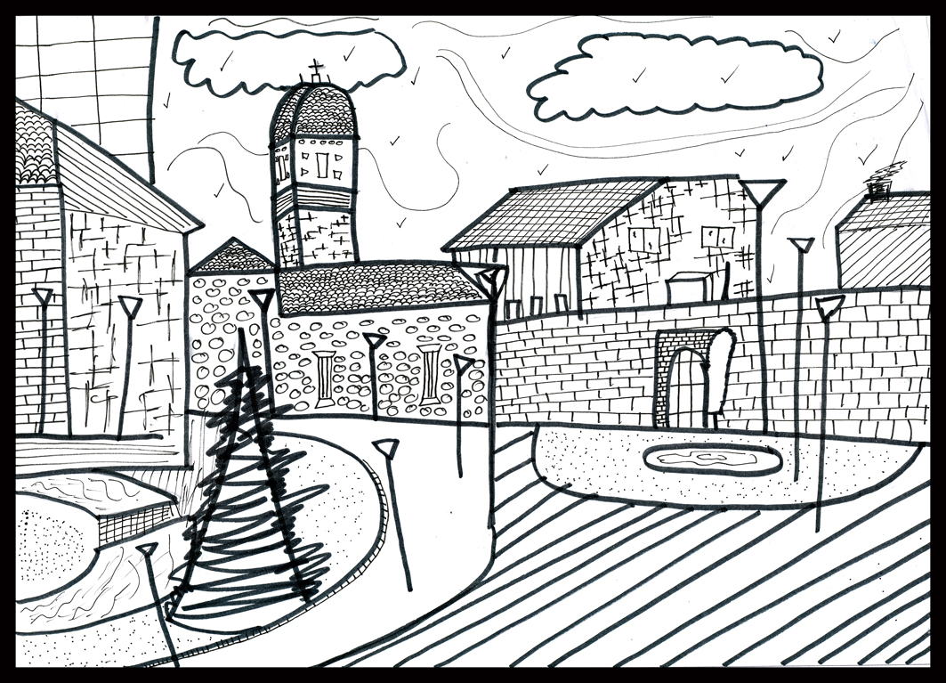 Imagenes de casas dibujadas a lapiz android ipad holidays oo - Casas dibujadas a lapiz ...