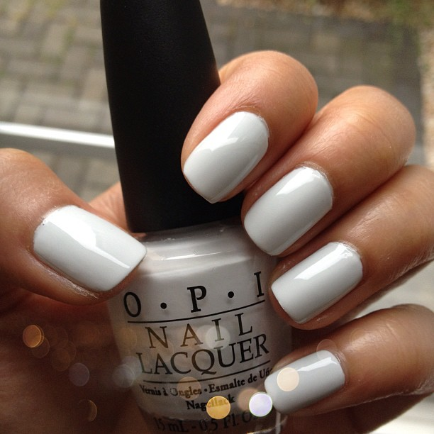 White Nail Polish In Winter: DSK Steph!: Nails, Lashes, Life