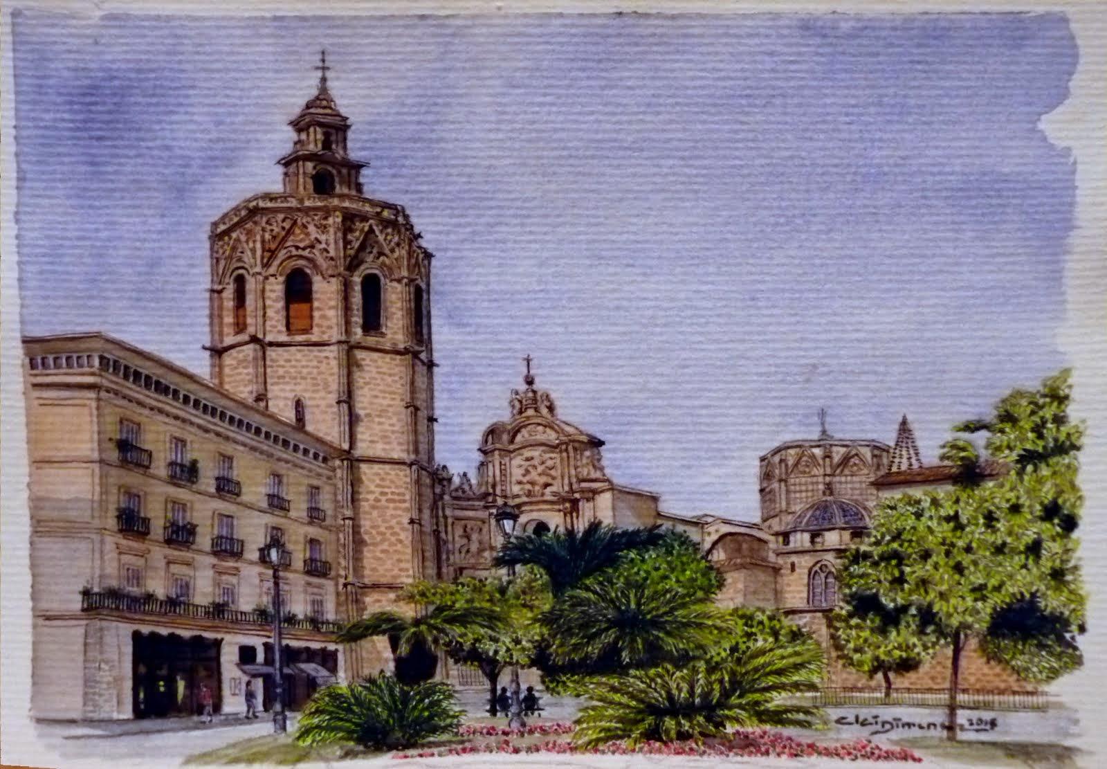 Plaça de la Reyna