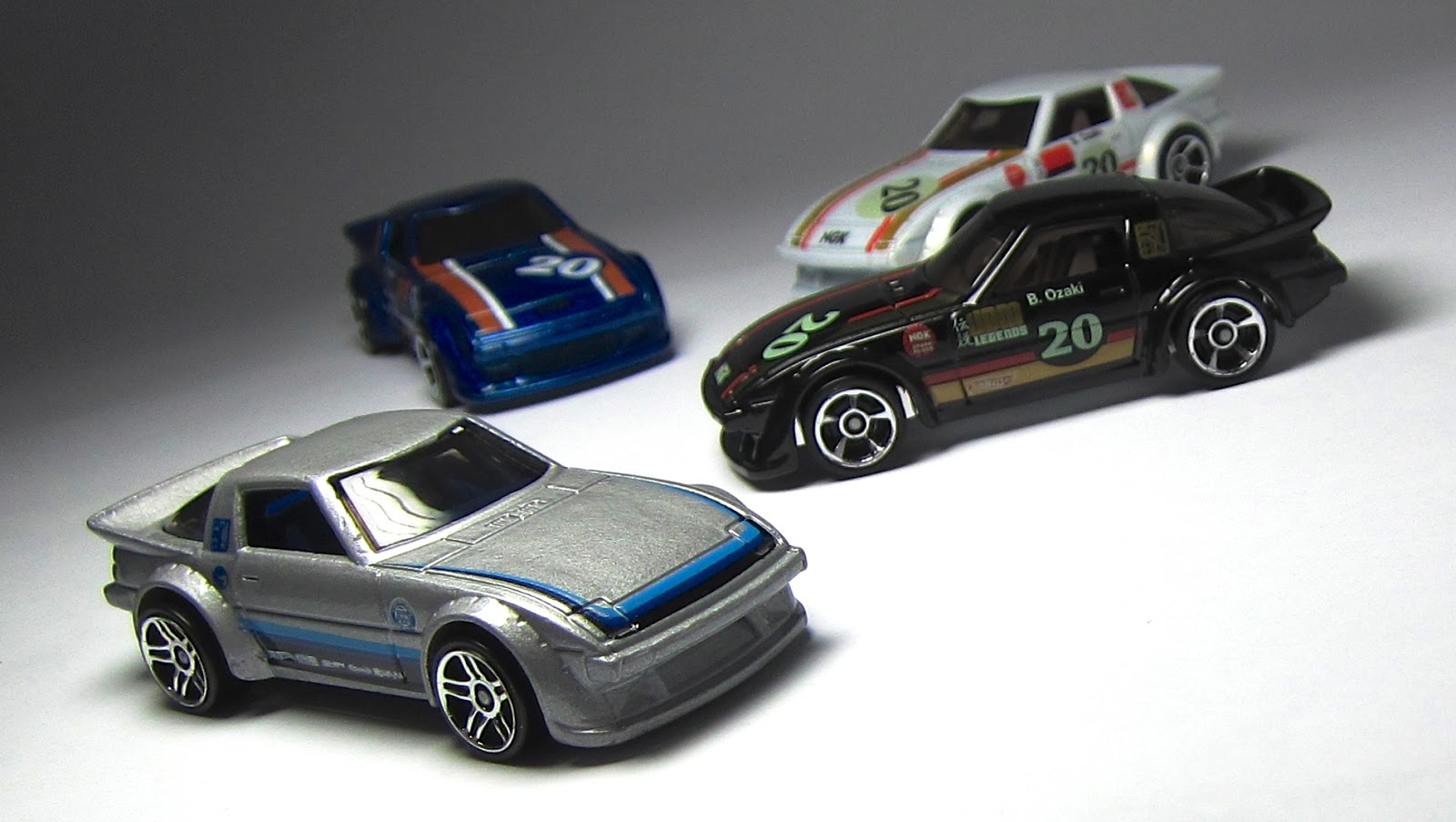 the Lamley Group  First Look  Hot Wheels Mazda RX 7 Treasure Hunt
