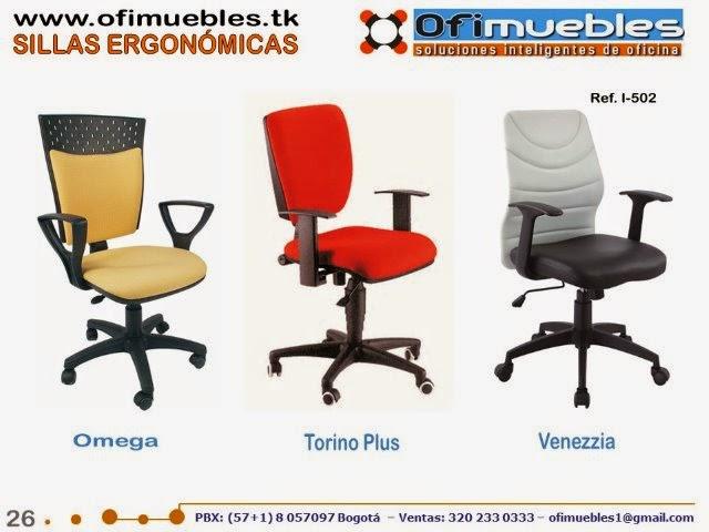 Sillas ergon micas secretariales operativas y ejecutivas for Sillas de oficina ergonomicas