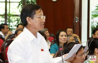 Đại biểu Huỳnh Thành. Ảnh: TTXVN.