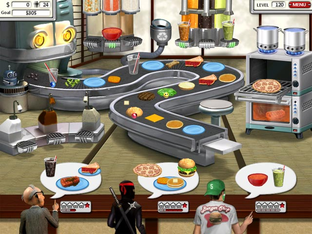 free games burger shop