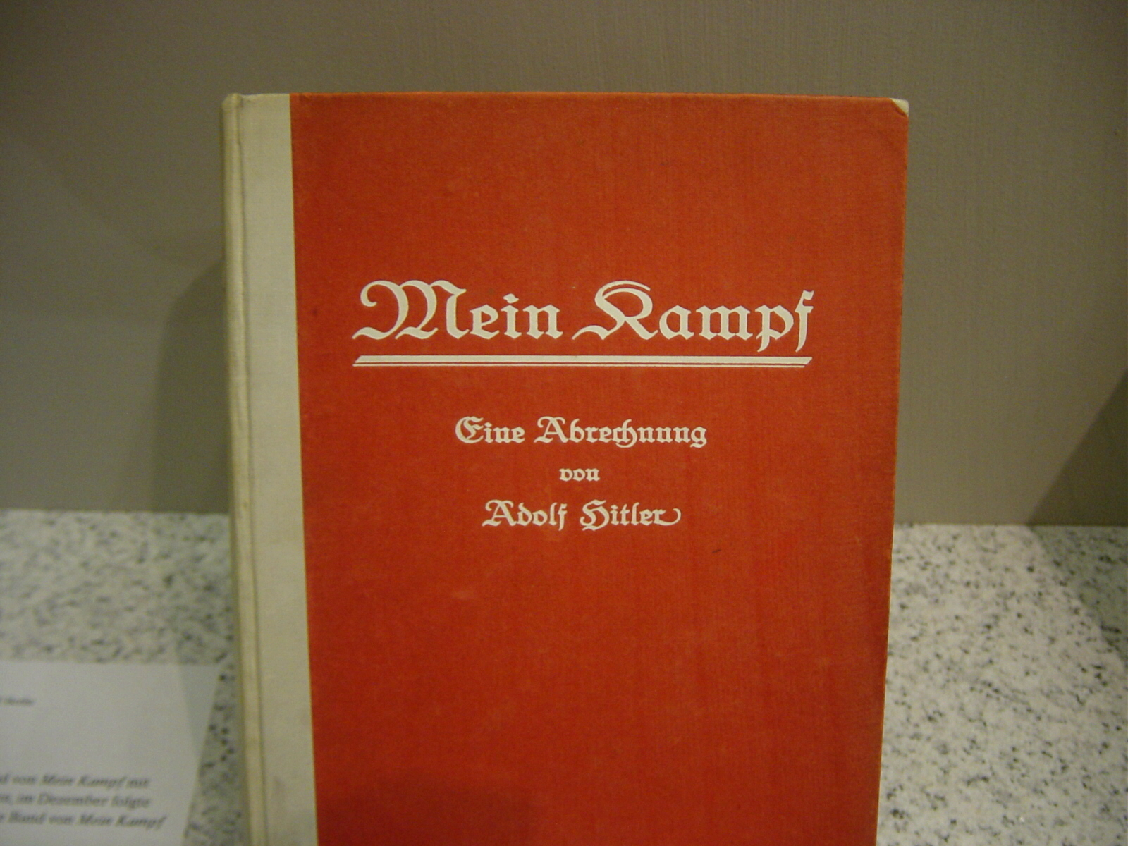 mein kampf Mein kampf has 27,157 ratings and 2,606 reviews manny said: i was somewhat disturbed to hear from lilo that the negative review of er ist wieder da wh.