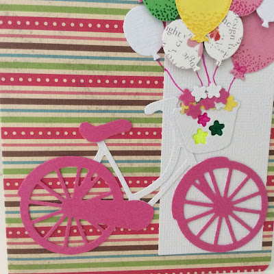 balloons-bike die-birthday-card