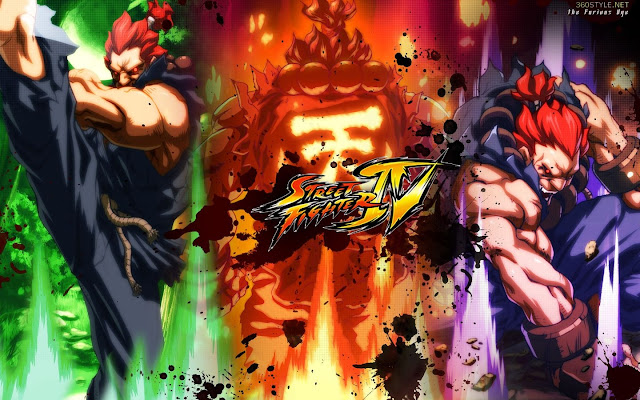 street fighter 4 capcom game