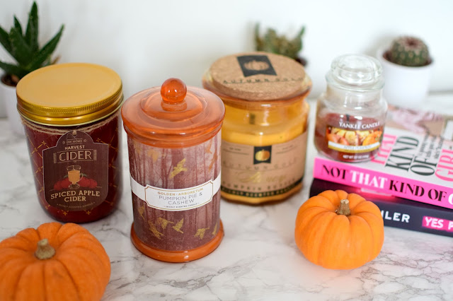 Autumn Candle Favourites