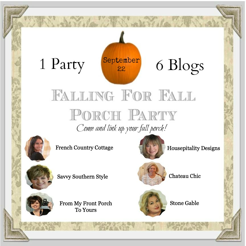 From My front Porch To Yours- Fall Porch Party 2014