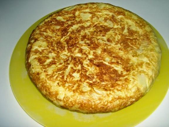Tortilla Rápida a la Sartén