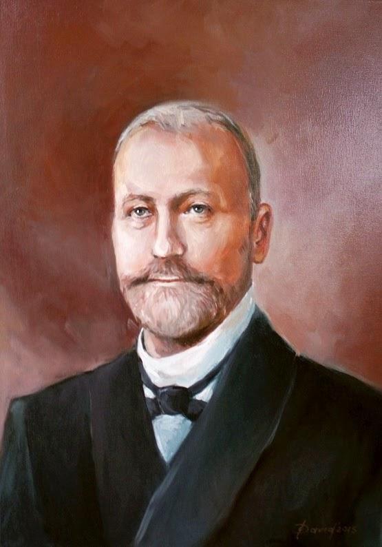 Ölgemälde, Portrait eines Mannes