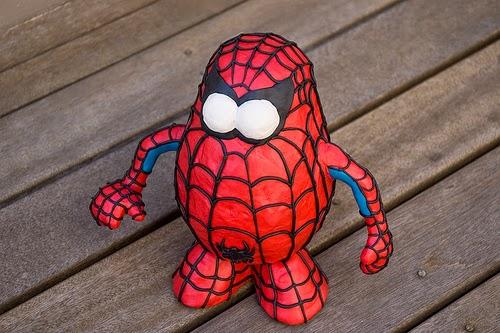 Mr. Potato versión Spiderman