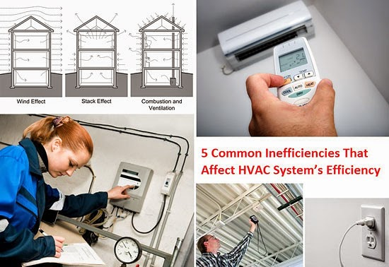 5 Common Inefficiencies That Affect HVAC System's Efficiency