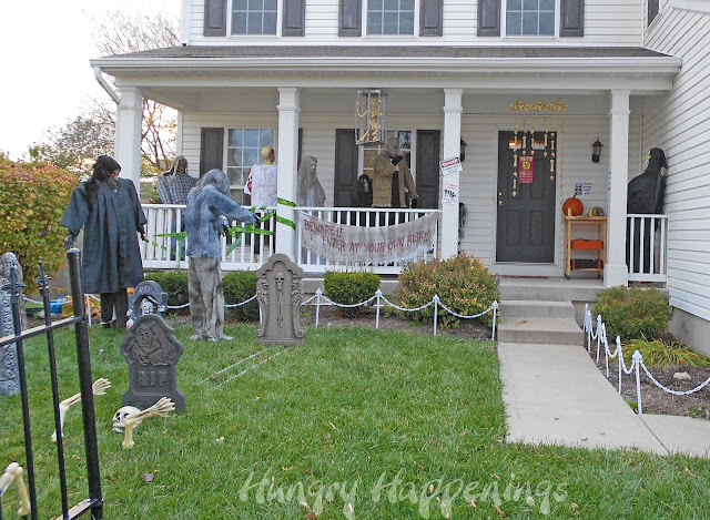 Hungry Happenings: Happy Halloween! Our zombie themed party was so