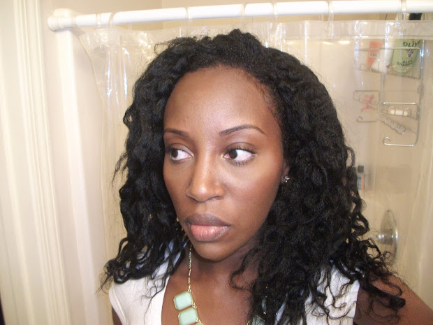 easy twist outs relaxed hair