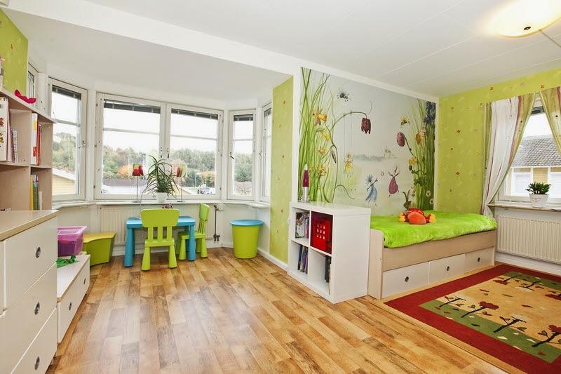 Kommer med litt inspirasjon til barnerom i dag :-) Deilig å se på ...