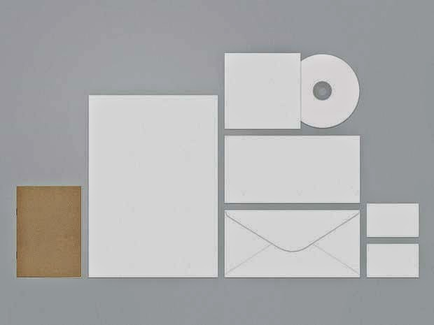 Free PSD Stationery Template