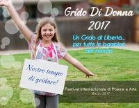 """Grido di Donna 2017: """"Un Grido di Libertà"""" per tutte le bambine del mondo"""