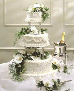 13 Tropical Flower Wedding Cakes Romantic