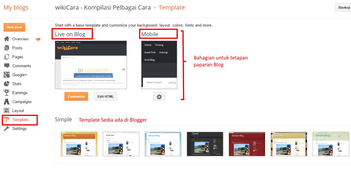 Cara Asas Menyediakan 'Mobile Friendly' Blog