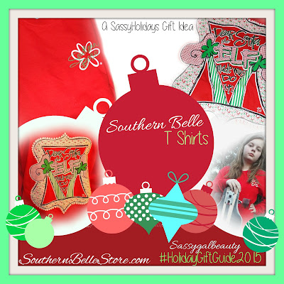 Southern Belle Tshirts- Southernbellestore.com: A SassyGalBeauty SassyHolidays GIft Idea