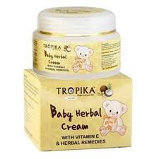 baby helbal cream tropika