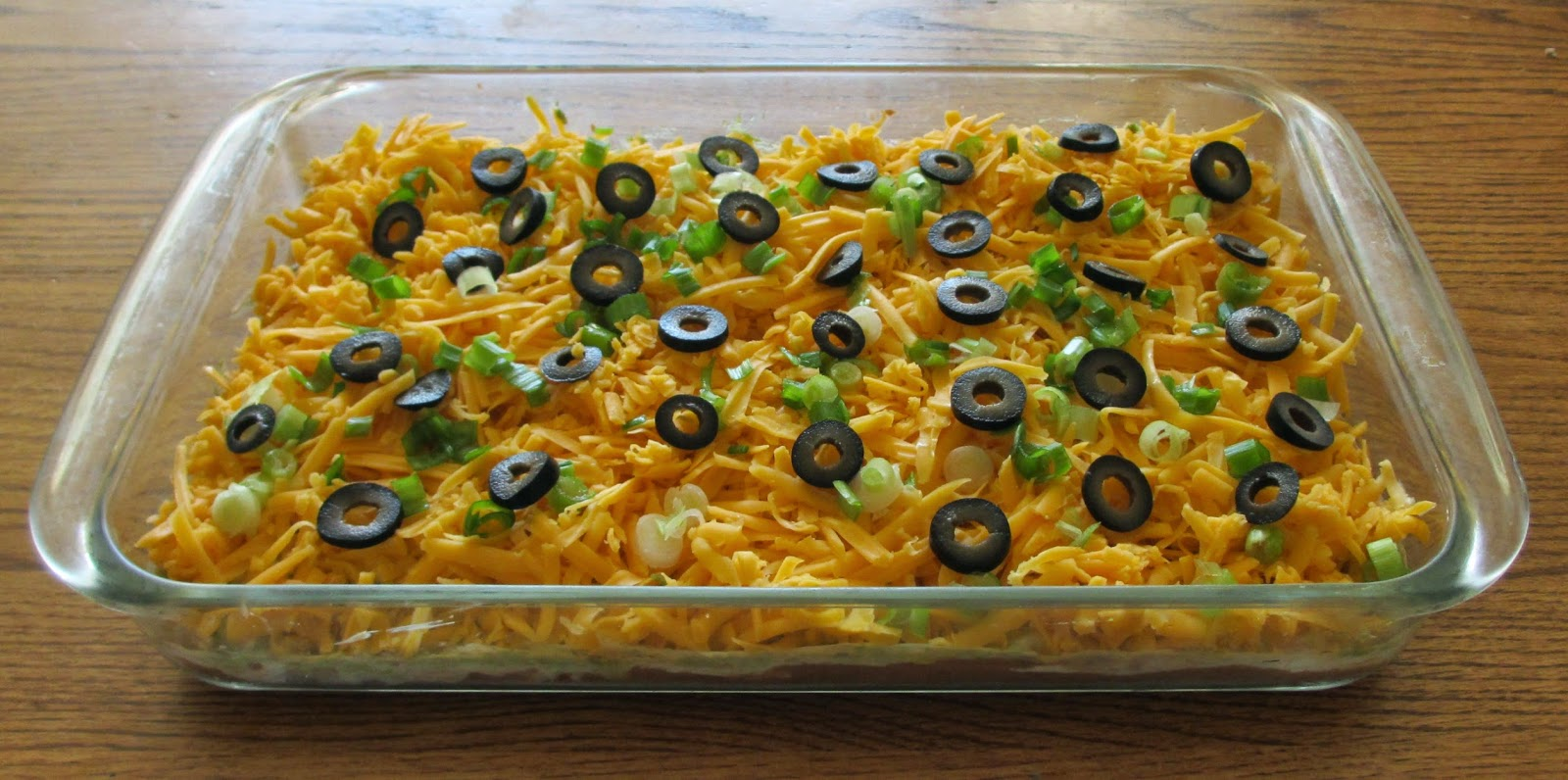 Memories of a Catholic Wife & Mother: 7-Layer Bean Dip