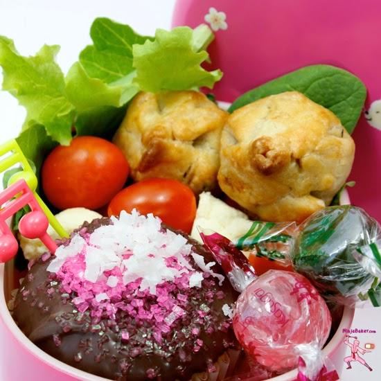 Australia Day Lamington Cupcakes and Bento Box ~ A Guest Post from the Ninja Baker!