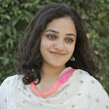 Nitya meenon Latest Photo Gallery in Salwar Kameez at New Movie Opening 5