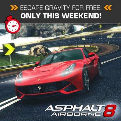 Gameloft e Apple regalano il gioco di corse Asphalt 8 nel corso di questo fine settimana