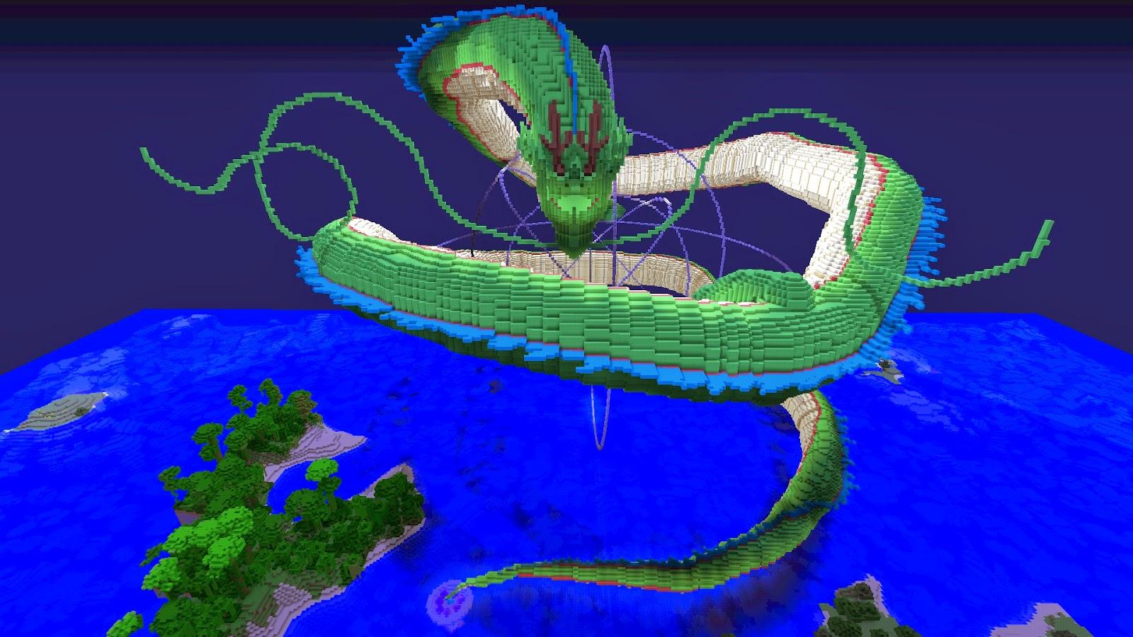 representación del dragón sheron