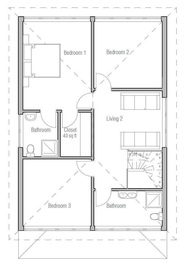 Australian house plans australian house plan ch191 for Australian home floor plans