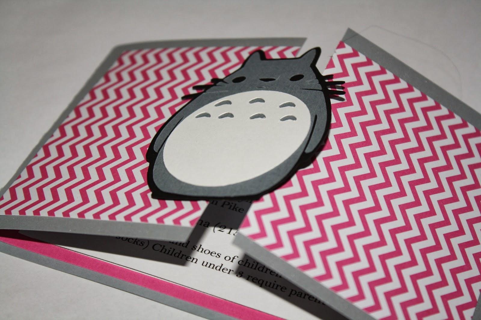 R R Creations Totoro invitations