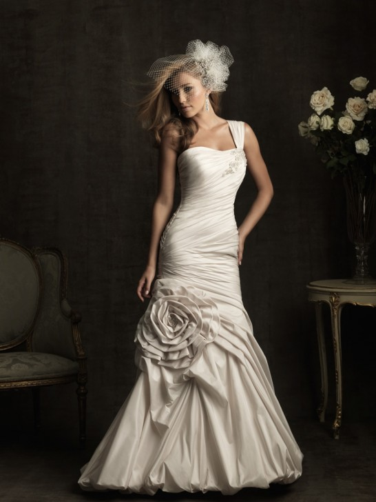 Coiffurete Dance: La robe de mariée asymétrique