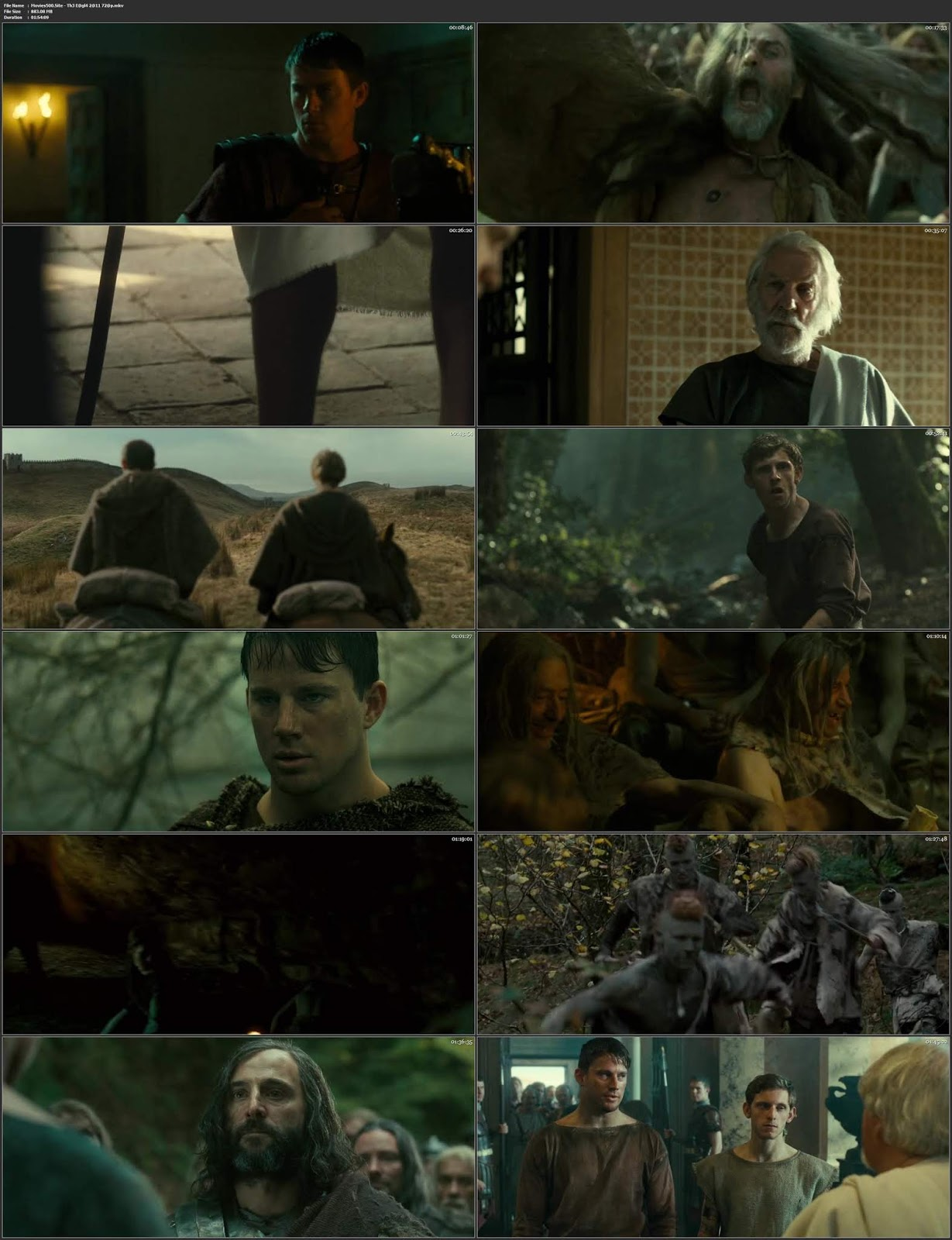 The Eagle 2011 Dual Audio Hindi ENG BluRay 720p ESubs