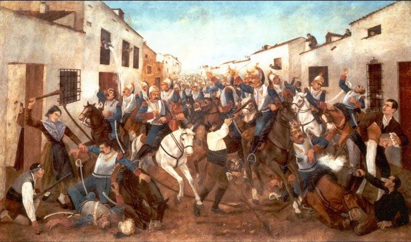 Los ingleses ayudaron en la guerra de Independencia