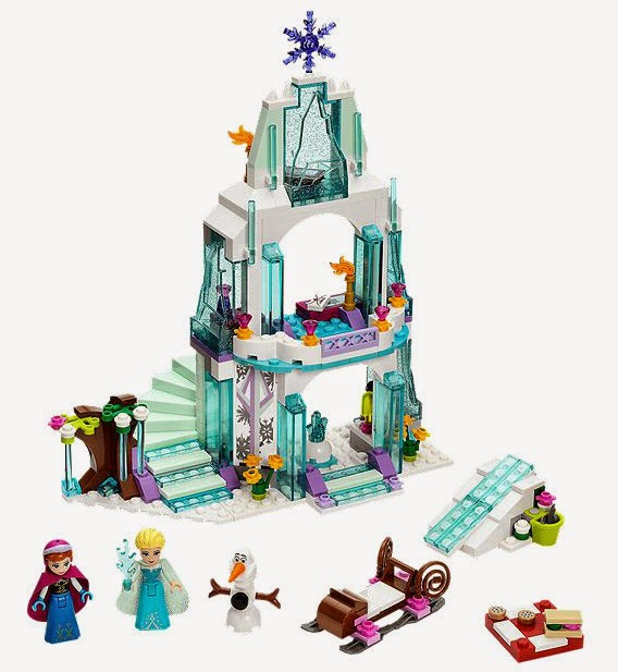 Elsa's Sparkling Ice Castle LEGO Frozen set 41062